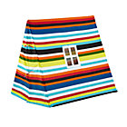 Multi Stripe Indoor Explorer Pup Tent