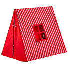Pink/Red Stripe Indoor Explorer Pup Tent