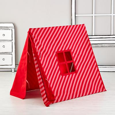 Indoor Explorer Pup Tents (Pink Stripe)