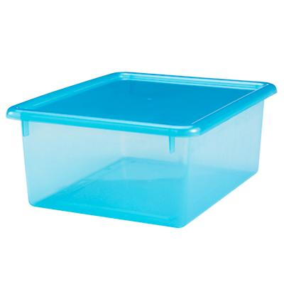"Blue  5.25"" Top Box"
