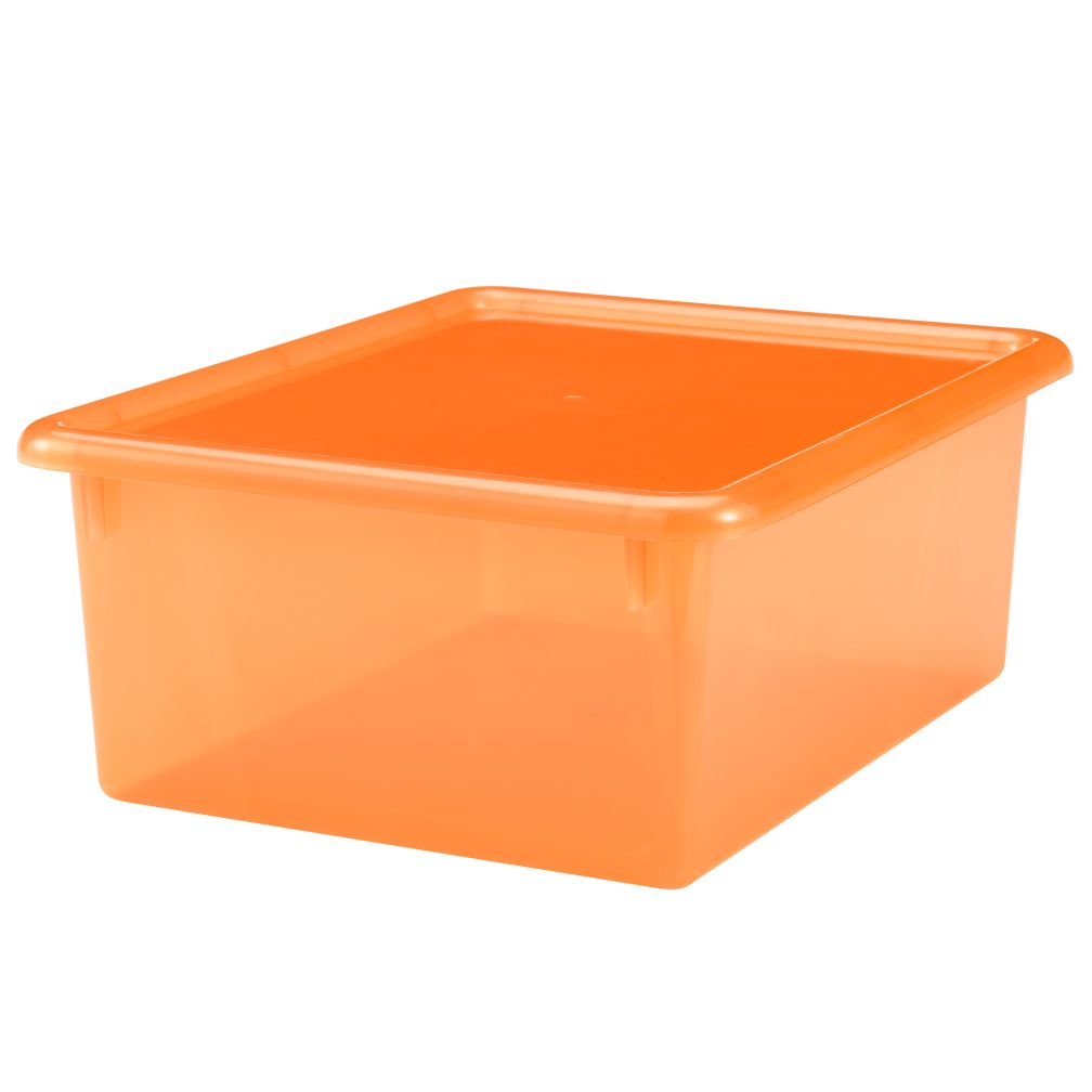 "Orange 5"" Top Box"