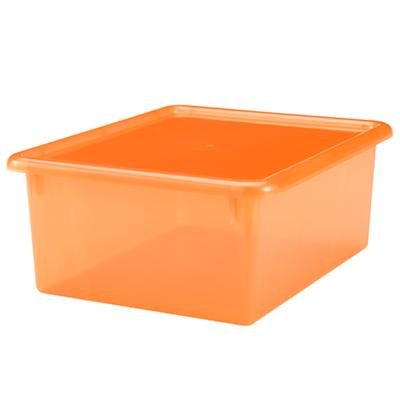 "Orange  5.25"" Top Box"