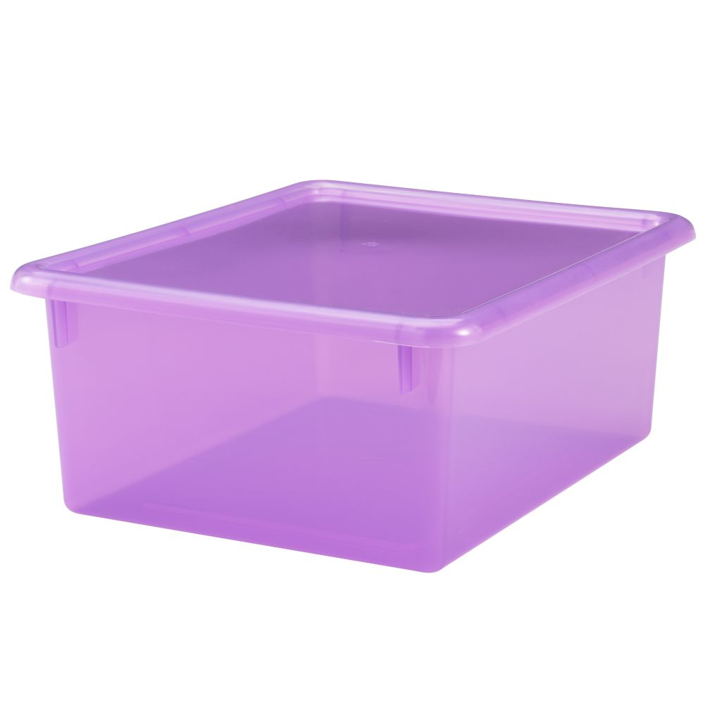 "Purple 5"" Top Box"