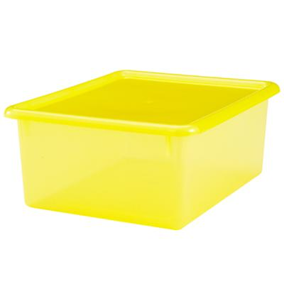"Yellow  5.25"" Top Box"