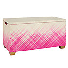 Hot Pink Color Weave Toy Box