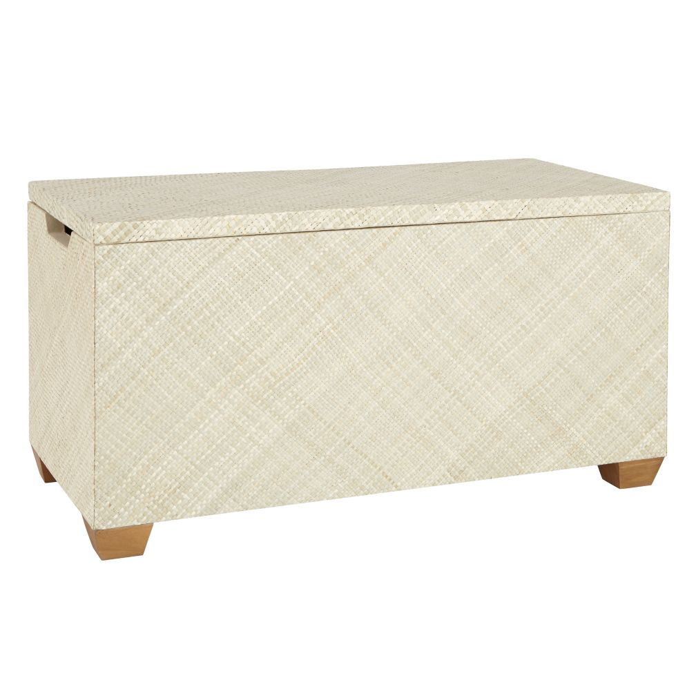 Natural Color Weave Toy Box
