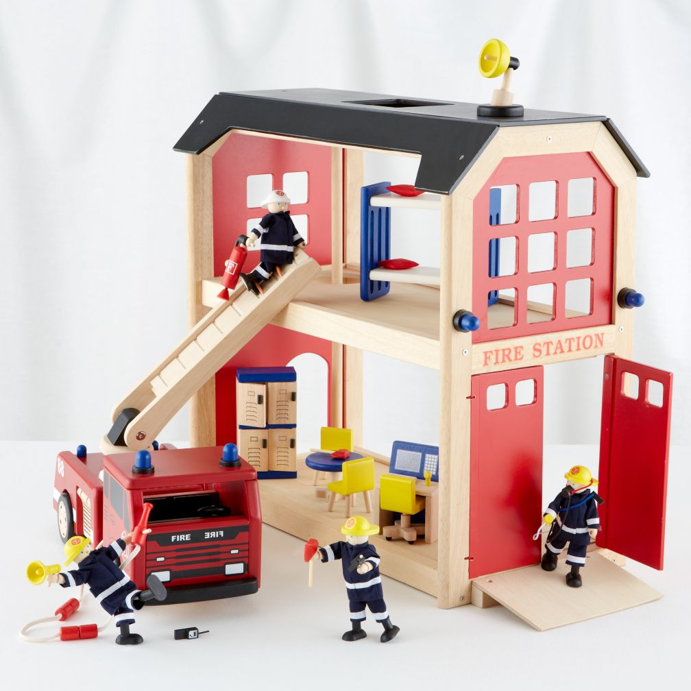 Everything but the Dalmatian Firehouse Collection Set
