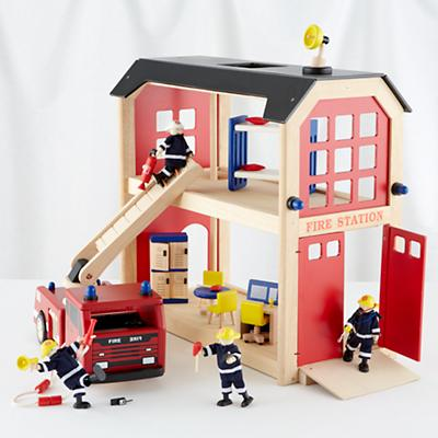 Everything but the Dalmatian Firehouse