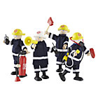 Set of 4 Firefighters