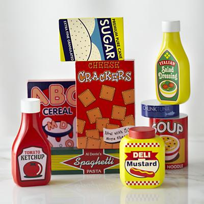 Stocked Cupboard Play Set