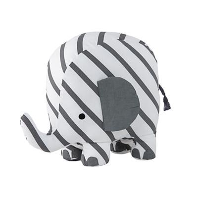 Patterned Plush Pachyderm (Stripe)