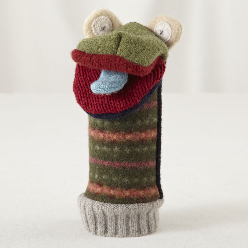Frog Pullover Hand Puppet