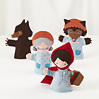 Once Upon Little Red Riding Hood Puppets Set/4