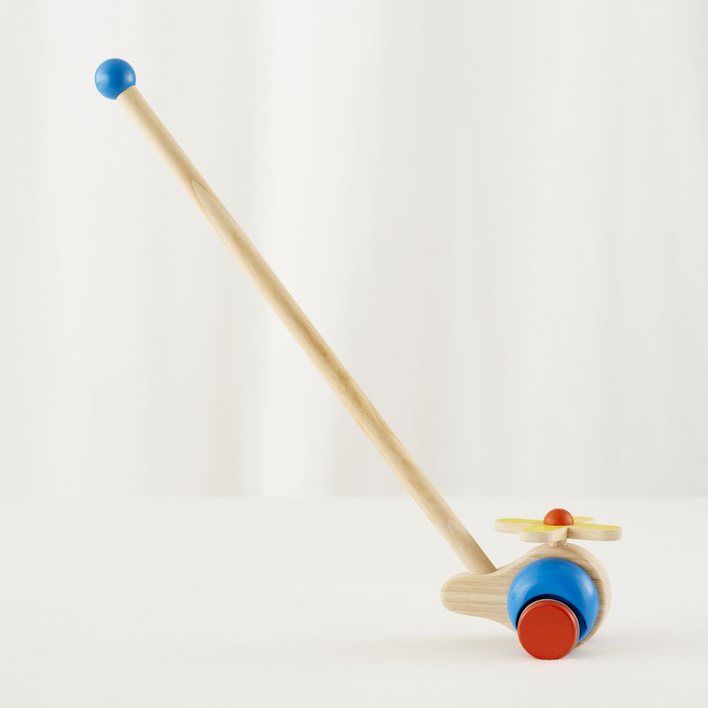 Helicopter Push Toy