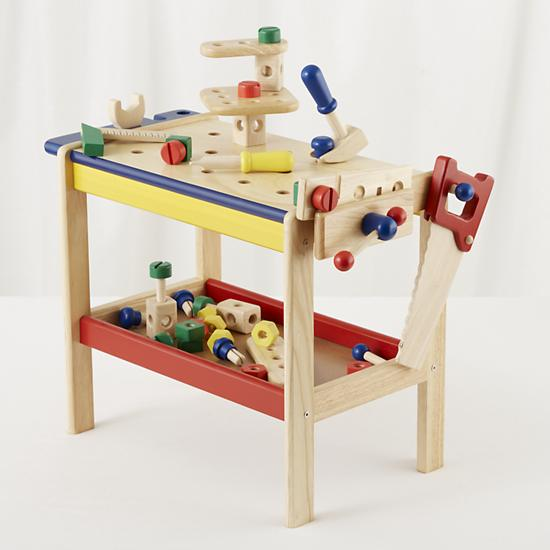 Kids 39 Imaginary Play Kids Toy Workbench Tools The Land Of Nod