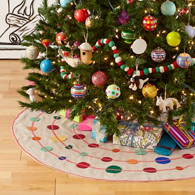 Connect the Dots Tree Skirt