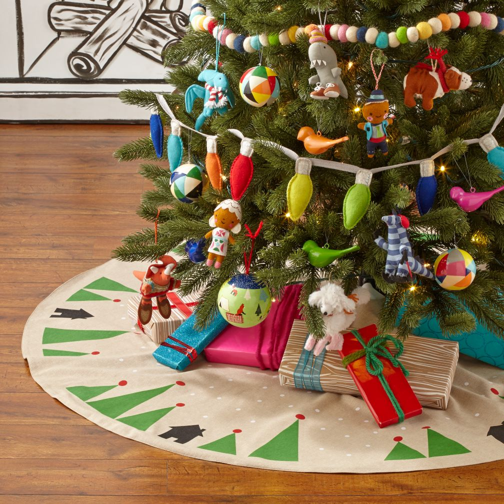 Urban Pine Tree Skirt