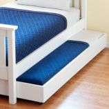 Simple Trundle Bed (White)