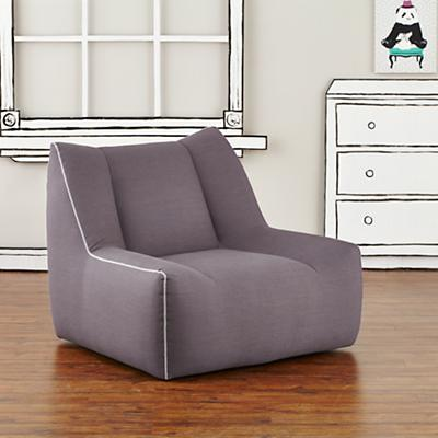 Open Arms Swivel Lounge (Gunmetal)