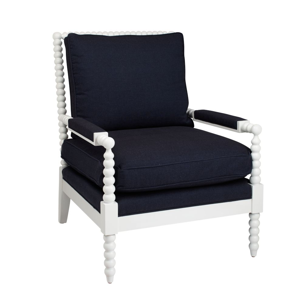 Jenny Lind Chair (Denali Denim)