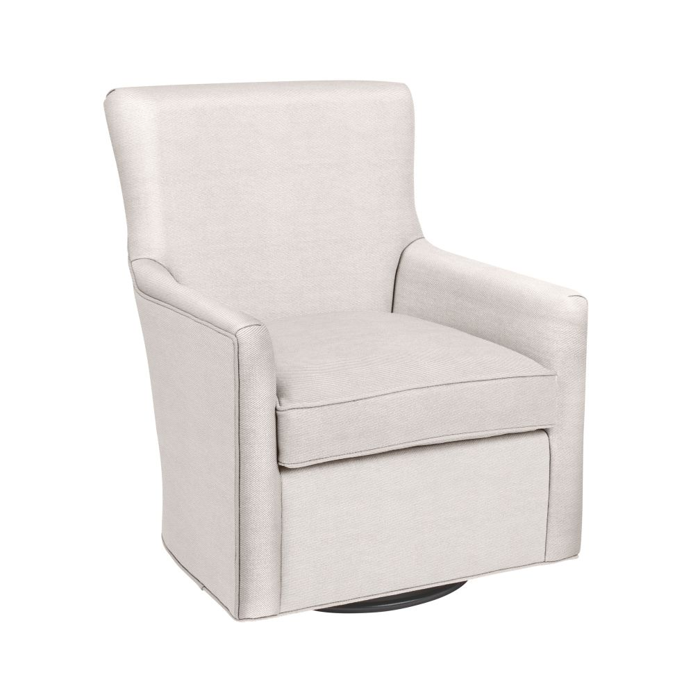 Toby Swivel Glider (Doss White)