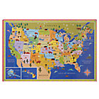 Unframed U.S. Wall Map (Rolled w/ Stickers)