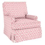 Mod Nod Swivel Glider &amp; Ottoman (Blossom)