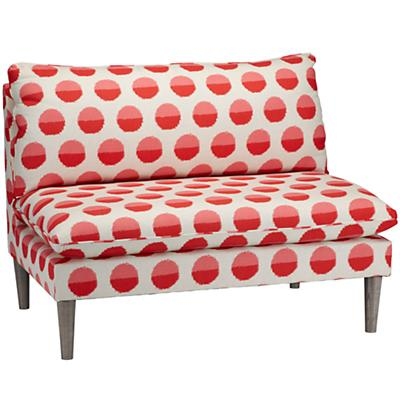 As You Wish Upholstered Settee