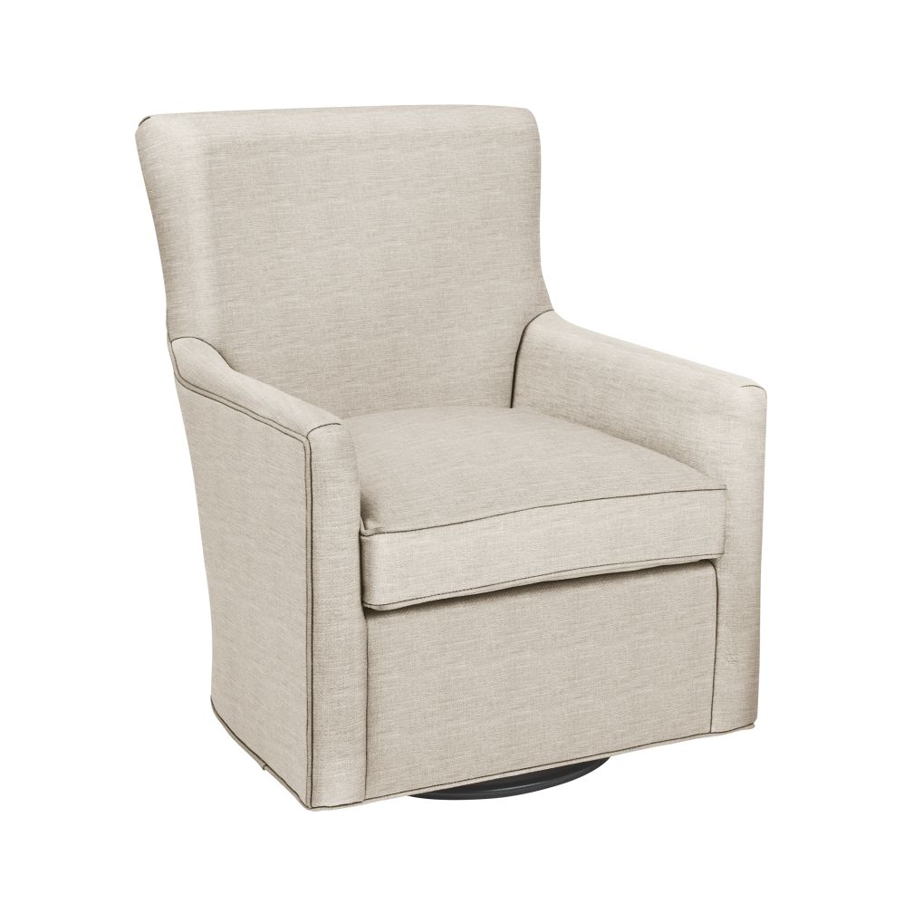 Toby Swivel Glider (Devote Cream)