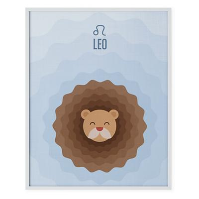 What's Your Sign Framed Wall Art (Leo)