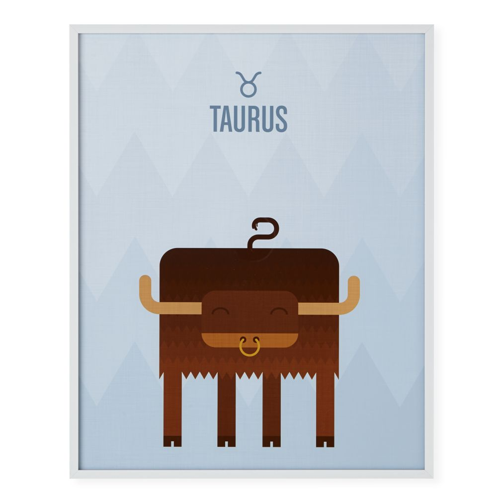 What's Your Sign Framed Wall Art (Taurus)