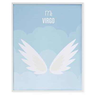 What's Your Sign Framed Wall Art (Virgo)