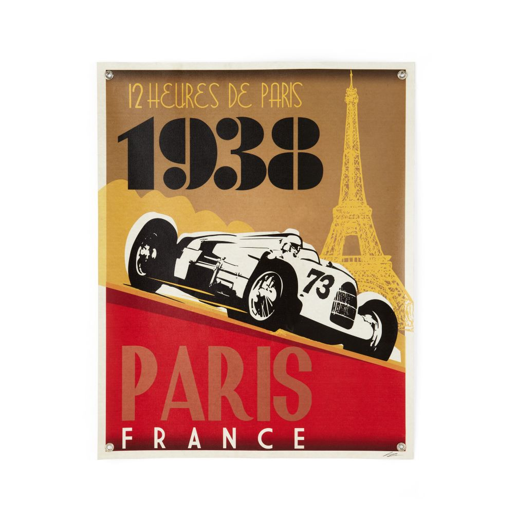 Racecar Banner (Paris)