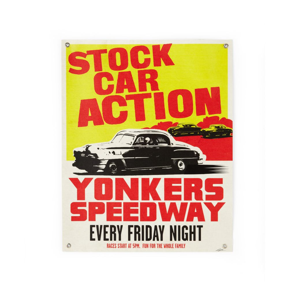Stock Car Action Banner