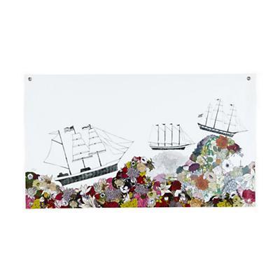 Sail the Ocean Blooms Banner