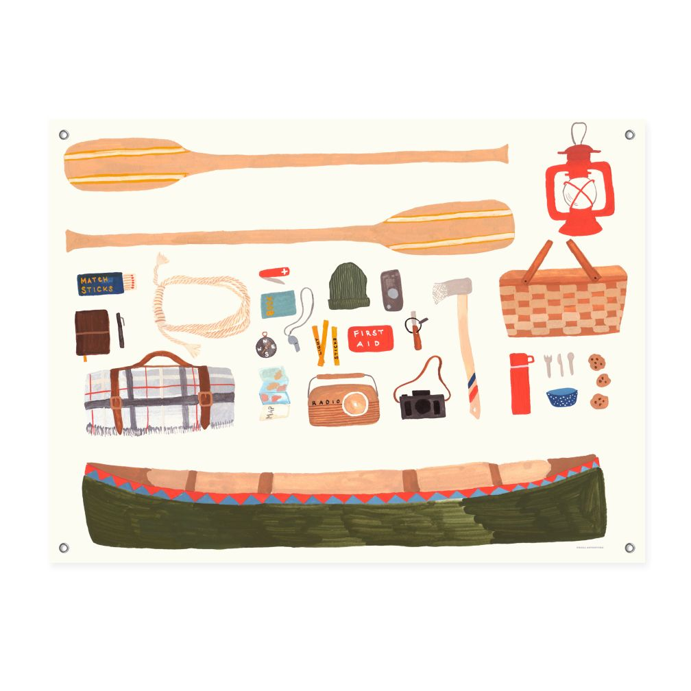 Outdoors Banner (Canoeing)