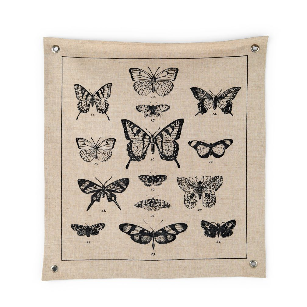 Grand Canvas Butterfly Banner