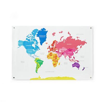 Hue-nited Nations Wall Map