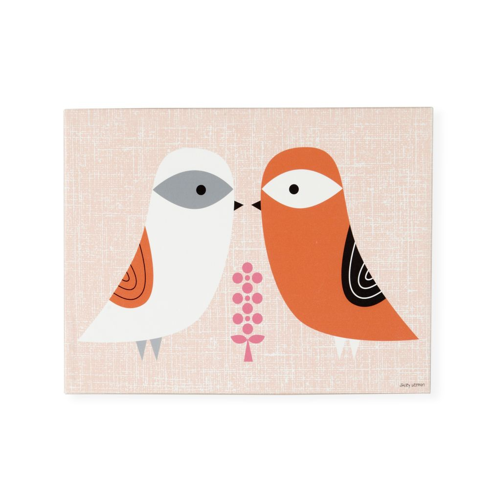 Blandford Birdies Canvas Art (Spring)