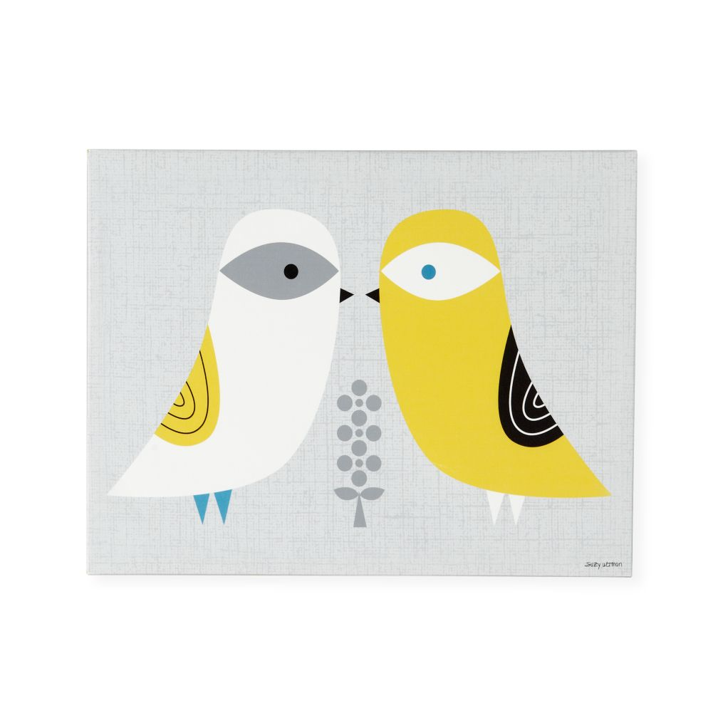 Blandford Birdies Canvas Art (Winter)