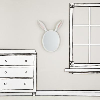 WallArt_Bunny_Ears_Mirror