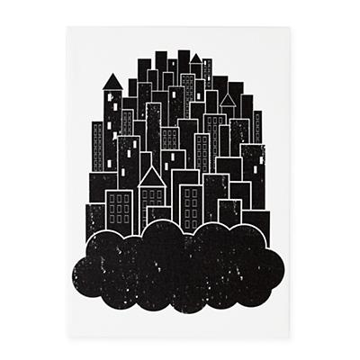 Print Noir Wall Art (Dream City)
