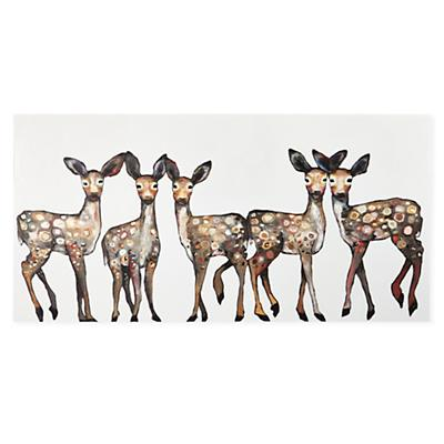 Oh Deer Canvas Wall Art