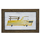 Framed Truck Wall Art