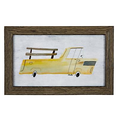 Truck Framed Wall Art