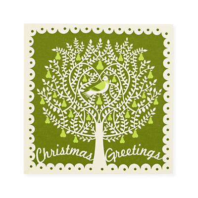 Green Pear Tree Wall Art