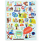 Alphabet  & Numbers Wall Art