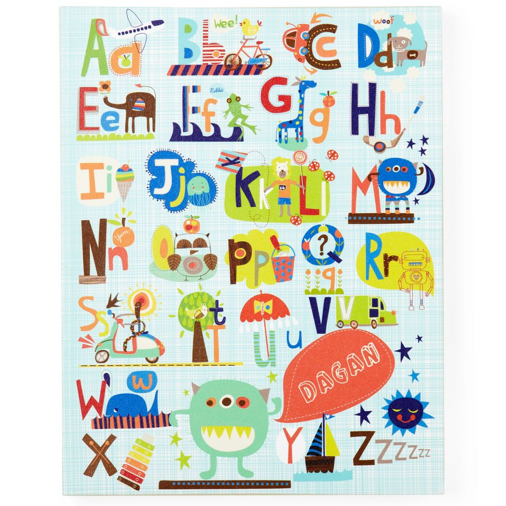 Critters and Cars Personalized Wall Art