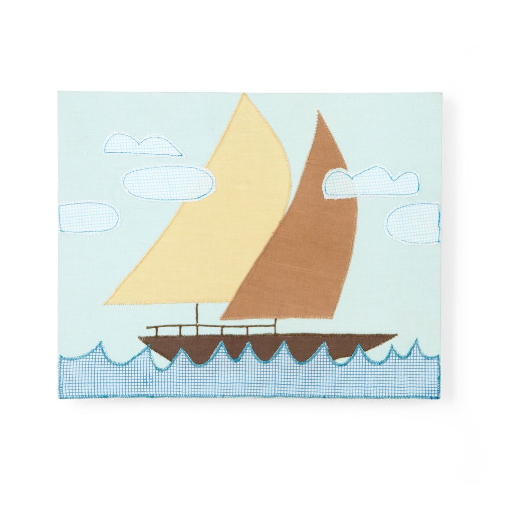 Transportation Sensation Wall Art (Sailboat)