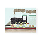 Train Embroidered Wall Art